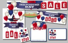 July 4th Balloons/ Independence Day Sale Event Kit - $150-$899
