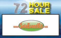 72 Hour Sale Employee Name Tags (40 pack)
