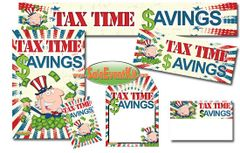 Tax Time Savings Event Kit - $150-$899