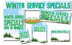 Winter Service Sale Event Kit - $150-$899