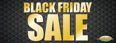 Black Friday Sale Vinyl Banner - 3' x 8'