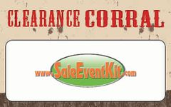Clearance Corral Employee Name Tags (40 pack)
