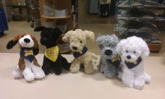 Peddie Stuffed Puppies