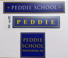 Peddie School Car Sticker