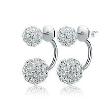 Silver Shambala Double Loop Earrings