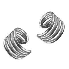 Single Sterling Silver Ear Cuff