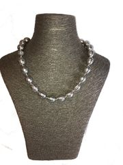 Grey Shell Pearl Necklace