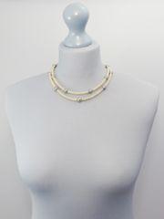 Double Strand Mini Pearl Necklace