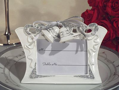 Wedding Bells Place Card Frame Dc1923 Wedding Favors Bridal