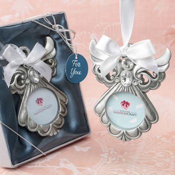 Angel Ornament With Picture Frame Fc8889 Wedding Favors Bridal
