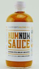 Num Num Sauce- Mustard Spice-10oz