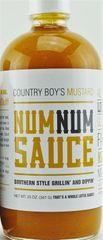 Num Num Sauce- Mustard-20oz