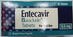 BARACLUDE 0.5 MG tab 30