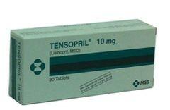 TENSOPRIL TAB 10MG 30'S