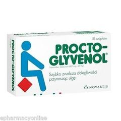 PROCTO-GLYVENOL SUPPOSITORIES