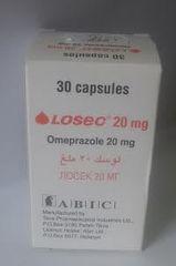 LOSEC 20 MG 30 CAP