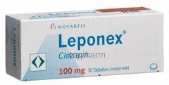 Leponex 100 mg Tab.