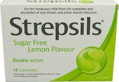 STREPSILS SUGAR FREE