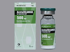 ACETAZOLAMIDE FOR INJECTION