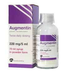 AUGMENTIN SUSP.250MG/5ML (100ML)