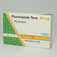 FLUCONAZOLE TEVA 50mg