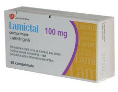 LAMICTAL TAB 100MGDISP/CHEW 30'S