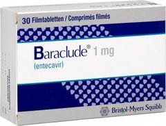 BARACLUDE 1 MG tab 30