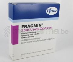 Fragmin 2500 0.2ml 10 amp