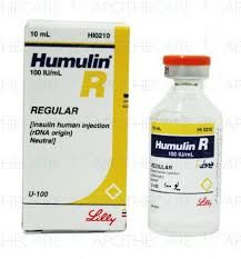 HUMULIN R VIAL 100U/ML(10ML)