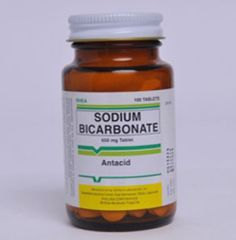 SODIUM BICARBONATE 500 mg