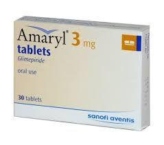 AMARYL TAB 3MG 30'S