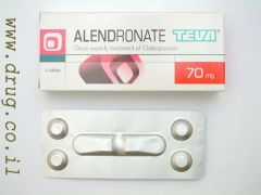 ALENDRONATE TEVA. 70MG