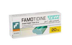 FAMOTIDINE TEVA 20 mg