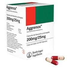 AGGRENOX CAP 200/25MG 60