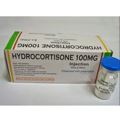 HYDROCORTISONE 100 MG