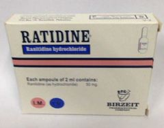 RATIDINE 2 ML AMP