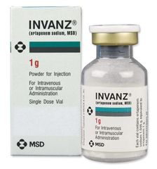 INVANZ VIAL 1GR 20ML