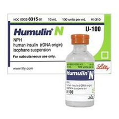 HUMULIN NPH VIAL100U/ML (10ML)