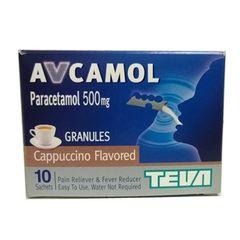 AVCAMOL 500 CAPPUCCINO