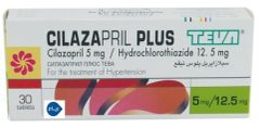 CILAZAPRIL PLUS TEVA 5/12.5MG