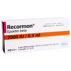 RECORMON 2000IU X 6 READY TO USE