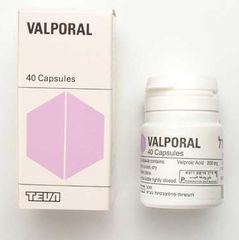 VALPORAL 200MG. CAPS