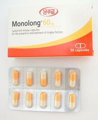 MONOLONG CAPS 60 MG