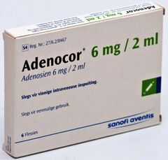 ADENOCOR 6 AMP 6MG