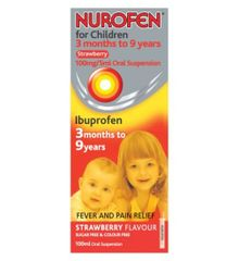 Nurofen Child Strawberry