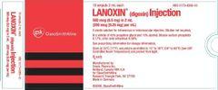 LANOXIN AMP. 0.5MG/2MLX5