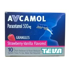AVCAMOL 500 STRAWBERRY
