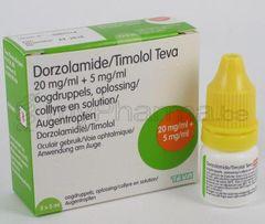 DORZOLAMIDE TIMOLOL SOL2/0.5% TEVA