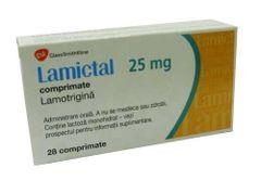 LAMICTAL TAB 25MGDISP/CHEW 30'S