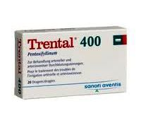 TRENTAL TAB 400MG 100'S